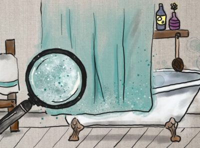 3 Ways to Clean Mildew Off Shower Curtains and How to Keep it That Way