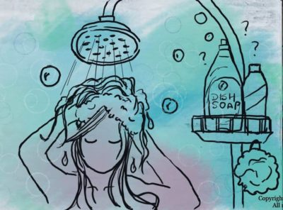 Can You Use Dish Soap To Wash Your Hair? Yes, but You Probably Shouldn't