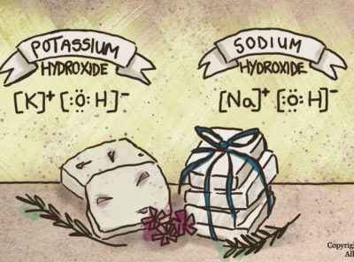 What's the Difference Between Sodium Hydroxide and Potassium Hydroxide for Soapmaking?