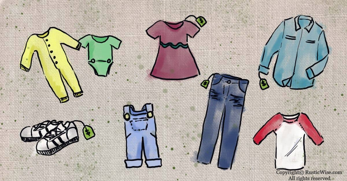 RusticWise_HowToSaveMoneyOnKidsClothes