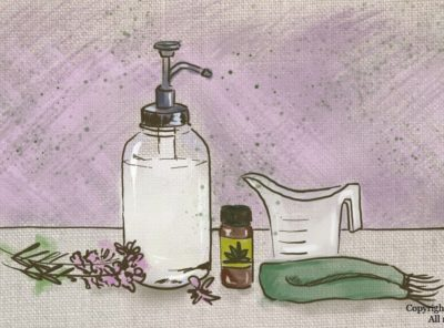 How To Make Liquid Antibacterial Soap With Natural Ingredients