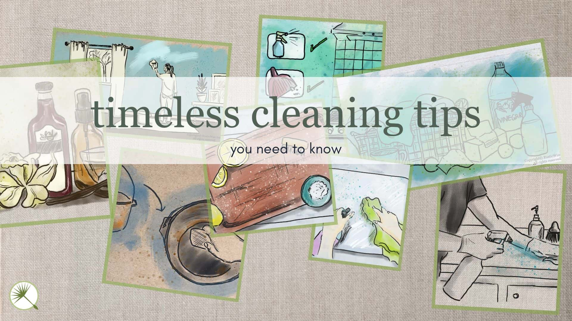 RusticWise.com Timeless Cleaning Tips