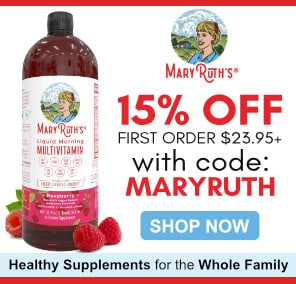 MaryRuth Organics: Healthy Supplements For The Whole Family