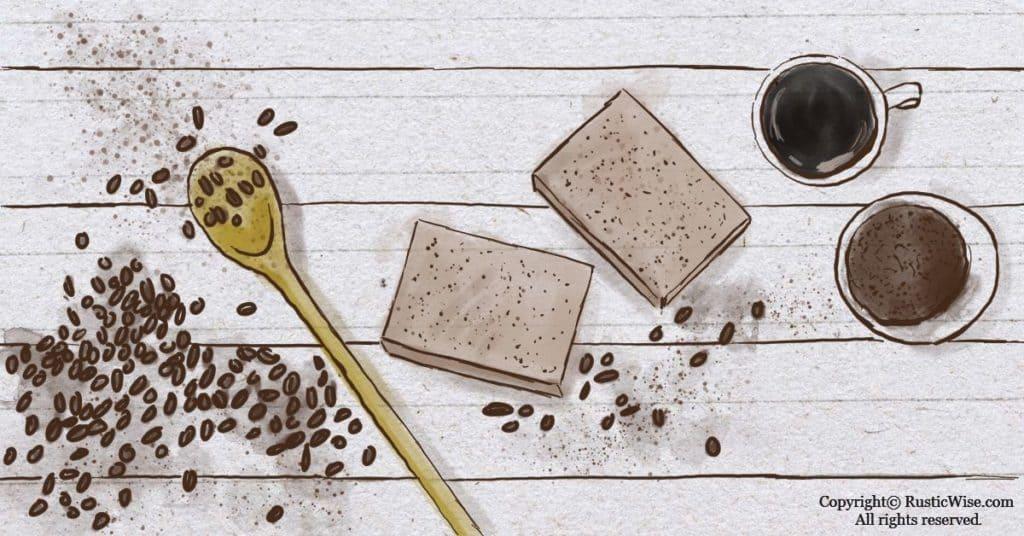 RusticWise_KitchenHandSoapRecipe_CoffeeSoap
