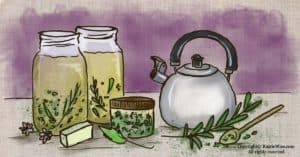 How To Make and Use Lye Water Tea for Herbal Soapmaking