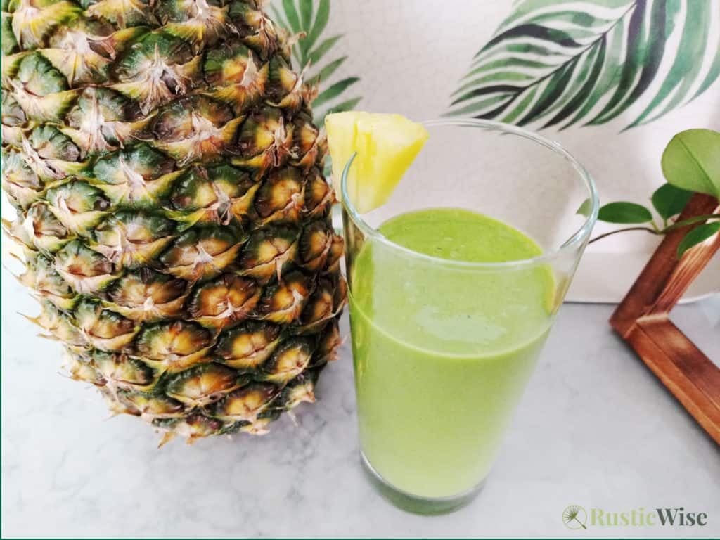 RusticWise_MicrogreenSmoothieRecipes_pineapple