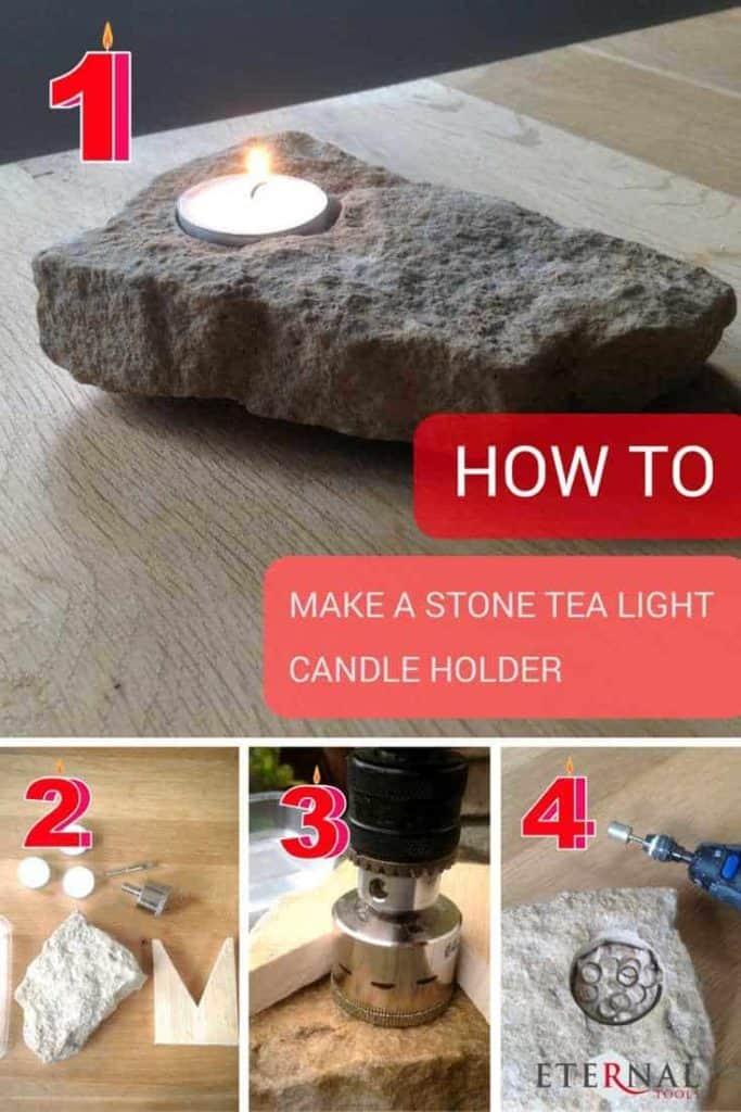RepurposeGraniteAndQuartzCountertops-Stone-TeaLightHolder