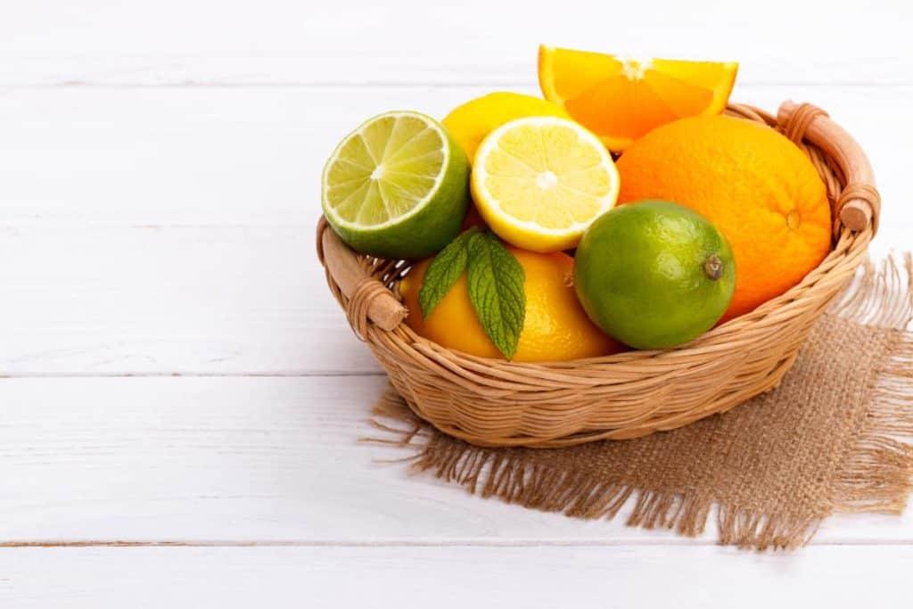 YayImages_CanYouCompostLemons_basket-of-citrus-fruit