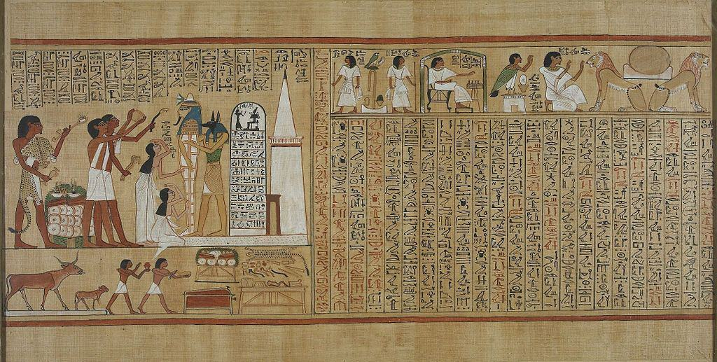 HistoryOfHerbs_1024px-Book_of_the_Dead_of_Hunefer_sheet_5