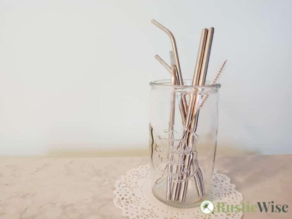 RusticWise_StainlessSteelVs.GlassStraws-metalstraws
